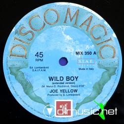 Joe Yellow - Wild Boy Maxi-Single 1989