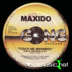 Cover Album of Maxido - Touch Me Marinero Vinyl 12'' 1984