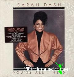 SARAH DASH - 1988 - YOU'RE ALL I NEED