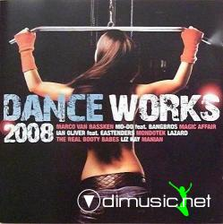 Cover Album of VA - Dance Works 2008