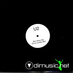 U2 - New Years Day (Ferry Corsten Remix) (NYD01) (2005) 12