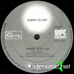 KAREN SILVER - Nobody else (Single)