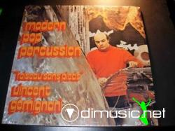 Cover Album of VINCENT GEMIGNANI-MODERN POP PERCUSSION, LP, 1970, FRANCE