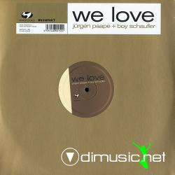 Jurgen Paape & Boy Schaufler - We Love (motivo128) (2007) 12