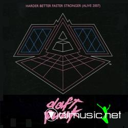 Daft Punk - Harder Better Faster Stronger (Alive 2007) (5099951928803) (2007) Cd
