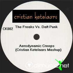 "The Freaks vs Daft Punk - Aerodynamic Creeps 12"" Maxi"