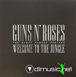 Guns N' Roses - Welcome To The Jungle (The Dirty Funker Remixes) (DFGR001) (2007) 12