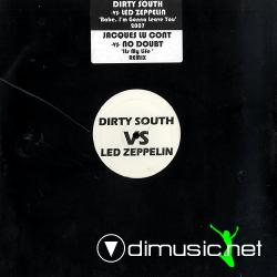 "Dirty South vs. Led Zeppelin - Babe, I'm Gonna Leave You (NOBABE001) (2007) 12"" Maxi"
