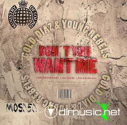 Gold, Diaz & Young Rebels - Don't You Want Me (MOS050) (2007) 12
