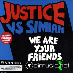 "Justice vs Simian - We are Your Friends (TENT 505) (2006) 12"" Maxi"