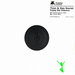 "Cover Album of Yvan & Dan Daniel - Enjoy The Silence (PKS009LIM) (2007) 12"" Maxi"