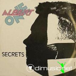 Albert One - Secrets (Vinyl, 12, Clear Vinyl) 1986