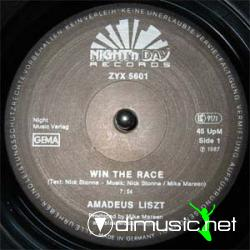 Amadeus Liszt - Win The Race- 12'' Single - 1987