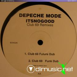 Depeche Mode - It's No Good (Club 69 Remixes) (PL12BONG26) (1997) 12