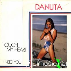 Danuta - Touch My Heart -12'' Single -1987