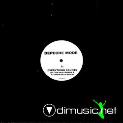 Depeche Mode - Everything Counts (Oliver Huntemann & Stephan Bodzin Dub) (EVERYTHING001) (2007) 12