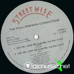 Paul Simpson Connection - Use Me Lose Me