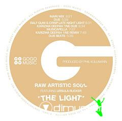 Raw Artistic Soul feat. Ursula Rucker - The Light (Incl. Karizma Mixes)
