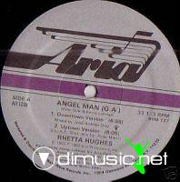Rhetta Hughes - Angel Man (G.A.) - Vinly 12'' - 1983