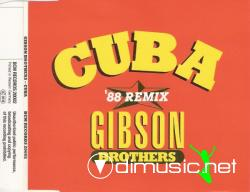 Gibson Brothers - Cuba ('88 Remix) ( CD, Maxi-Single)