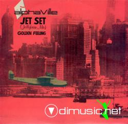 Alphaville - Jet Set  - 12'' Single - 1985