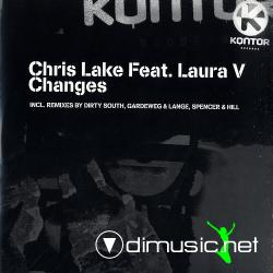 "Chris Lake Feat. Laura V - Changes (Kontor580) (2007) 12"" Maxi"