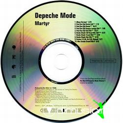 Depeche Mode - Martyr (PRO-CDR-101926) (2006) Cd' Maxi