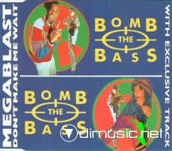 Bomb The Bass - Megablast &  Don't Make Me Wait - Maxi CD -1988