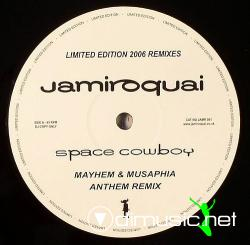 Jamiroquai - Space Cowboy (Limited Edition 2006 Remixes) (JAMR001) (2006) 12