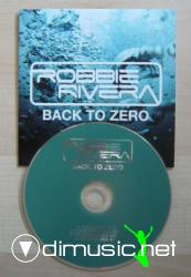 obbie Rivera - Back To Zero (Retail CDS - 2008)
