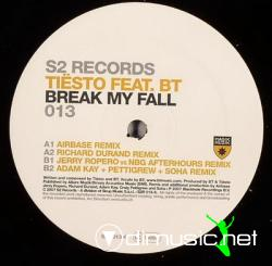 Tiesto Ft BT-Break My Fall-Promo CDM-2007-GTi