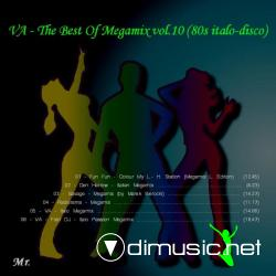 VA - The Best Of Megamix vol.10 and (10a bonus) (80s italo-disco
