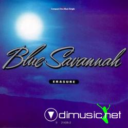 Erasure - Blue Savannah - CD Maxi - 1990