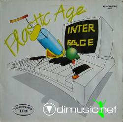 Interface - Plastic Age  - 12''  Vinly Remix - 1987