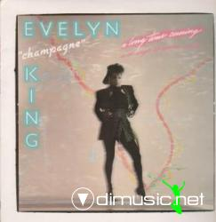 EVELYN CHAMPAGNE KING - A Long Time Coming LP 1985