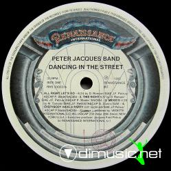 Peter Jaques Band - Dancing in the street