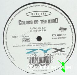 Harajuku - Colors Of The Wind (Almighty Remixes)