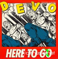 Devo - Here To Go - 12'' Single - 1985