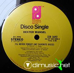 Dexter Wansel - I'll Never Forget (My Favorite Disco)