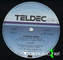 Falco-Coming Home (Jeanny Part 2)-Vinyl-1986
