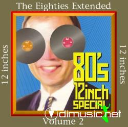 Various - The Eighties Extended (12'' Inches)