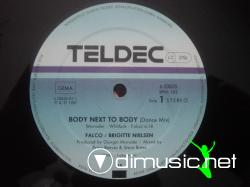 Falco Meets Brigitte Nielsen - Body Next To Body - 12'' - 1987