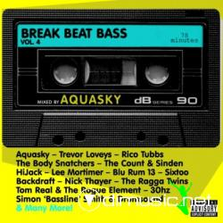 V.A. Breakbeat Bass 4 - Compiled By Aquasky (2008)