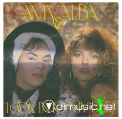 Amy & Alba - (1985) - Look Into My Eyes 12''