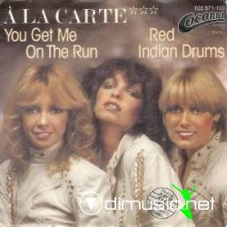 A La Carte - You Get Me On The Run - 12'' Single - 1981