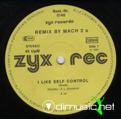 Mach 2 - I Like Self Control-(ZYX)-Vinyl-1984