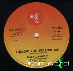 Marx and Spencer-Fallow You Fallow Me-Vinyl-1984