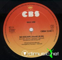 Max Him - No Escape-Vinyl-1984