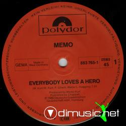 Memo - Everybody Loves A Hero (Special Maxi Version)-Vinyl-1986