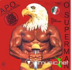 A.P.O. - O Superman - 12'' Single - 1982